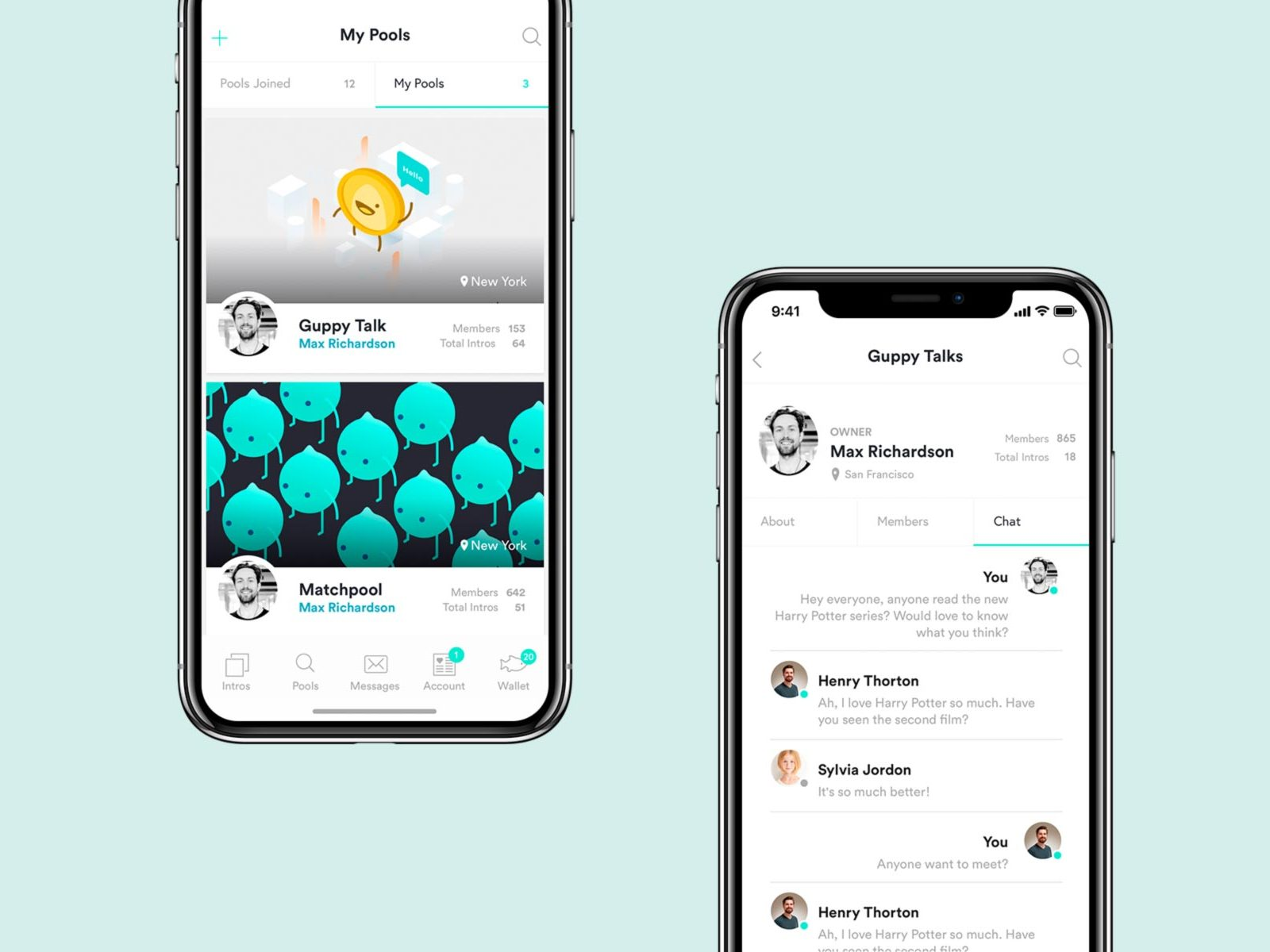 Matchpool iOS application